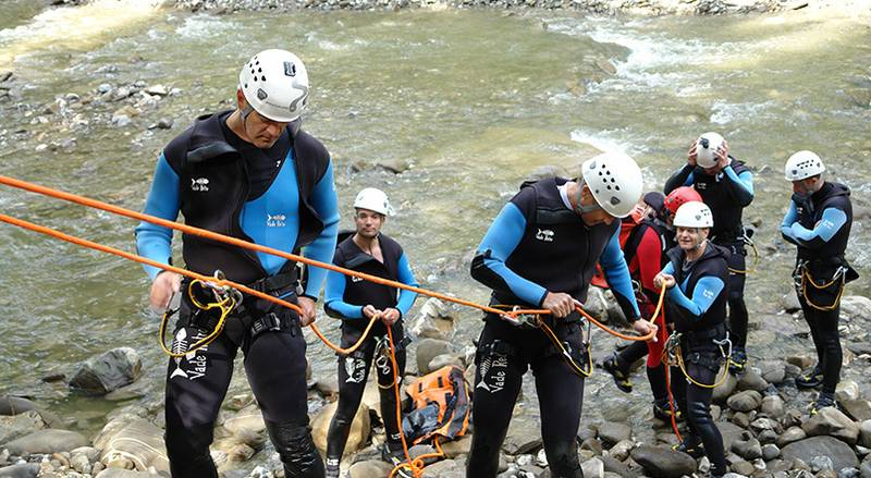 Canyoning als Teamerlebnis